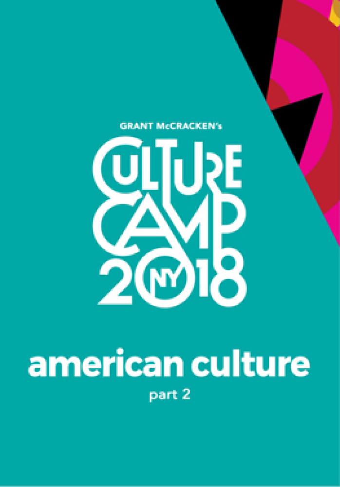 culture camp 2018 american culture