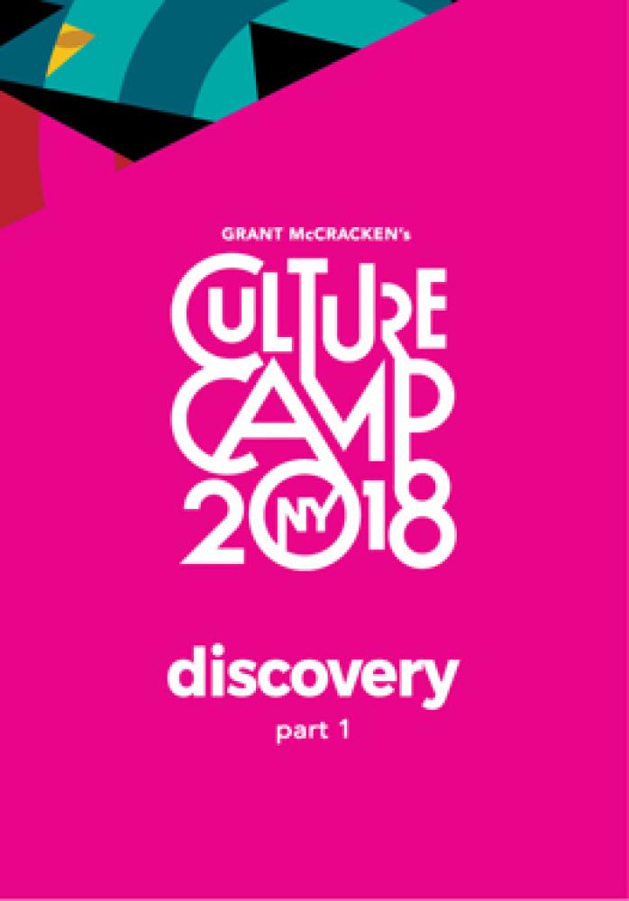 culture camp 2018 discovery